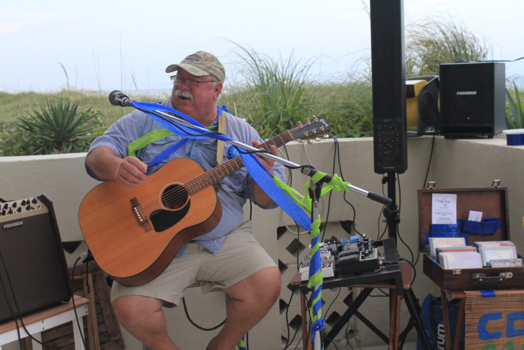 Here is the Master Storyteller himself performing at his birthday bash at Shell Island.